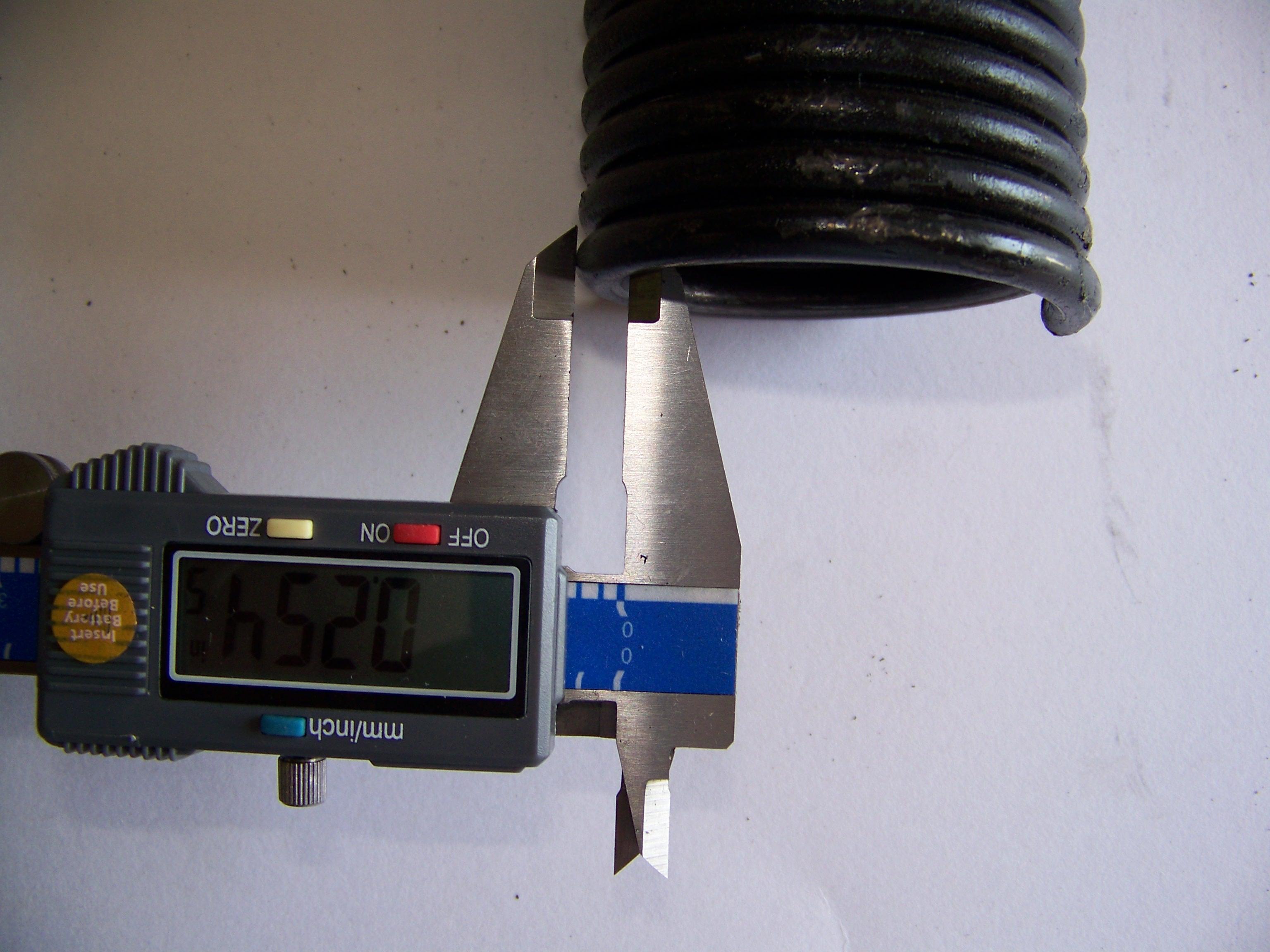 How to measure garage door springs for How to determine garage door spring weight