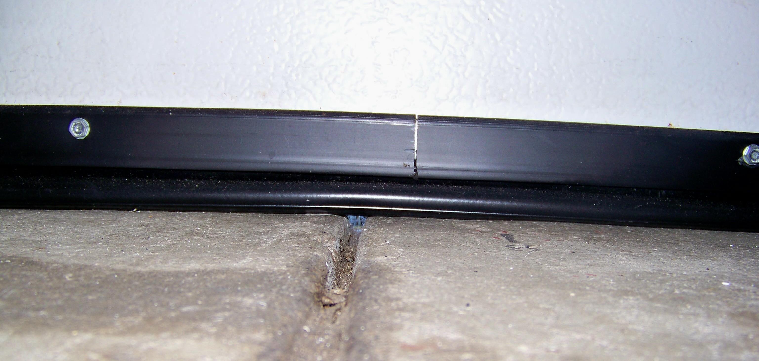 Installing Garage Door Bottom Seal Kits Garage Door Stuff