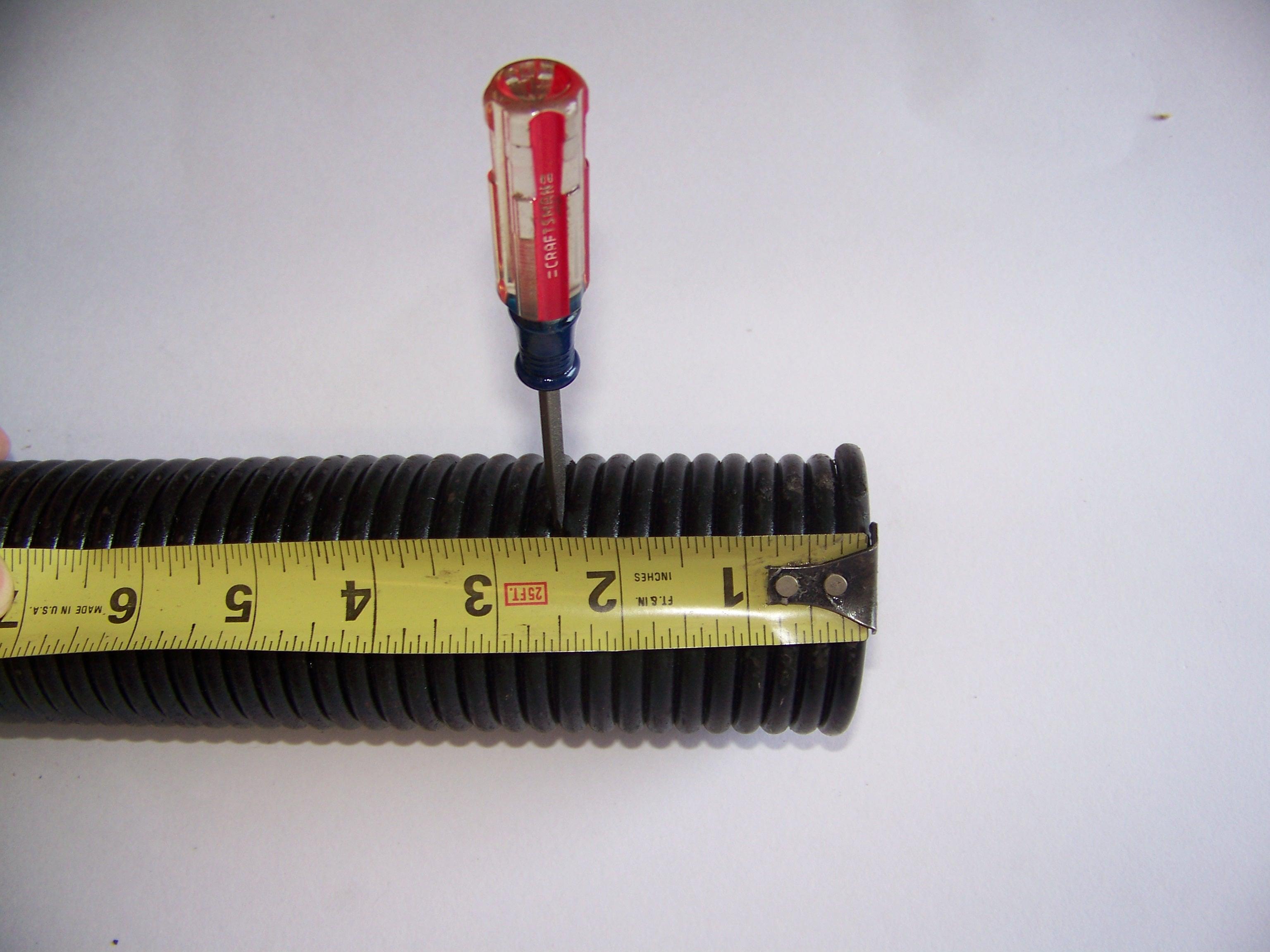 How to measure torsion garage door springs garage door stuff for How to determine garage door spring weight